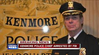 Kenmore Police Chief arrested by FBI