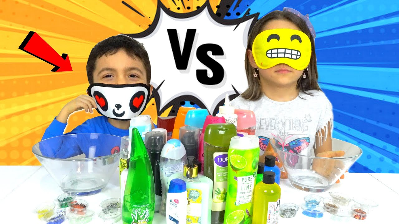 Gozler Kapali Slime Challenge Hileli Oyuncax Tv Youtube