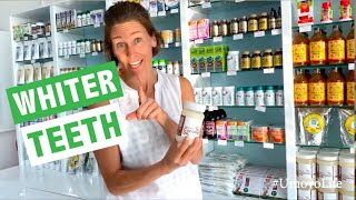 Whiter Teeth with Oil Pulling - Coconut Oil Benefits - #UmoyoLife 002