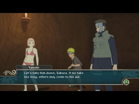 Naruto Ninja Storm 2 Trilogy PC MOD Walkthrough Part 7 60 FPS - Swimsuit Sakura vs Kabuto Boss Fight