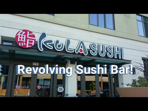 Kula Revolving Sushi Bar - Japanese Style Sushi in the heart of Silicon Valley!