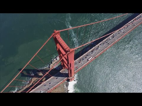 Golden Gate Bridge and San Francisco Droned in 4K!