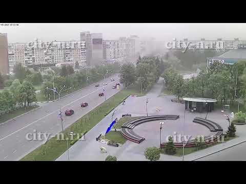 Герб Новокузнецка в аквариуме разбился во время урагана