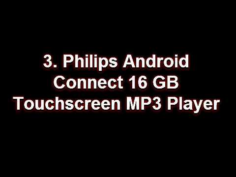 Top 5 Best Selling Android MP3 Players from Amazon