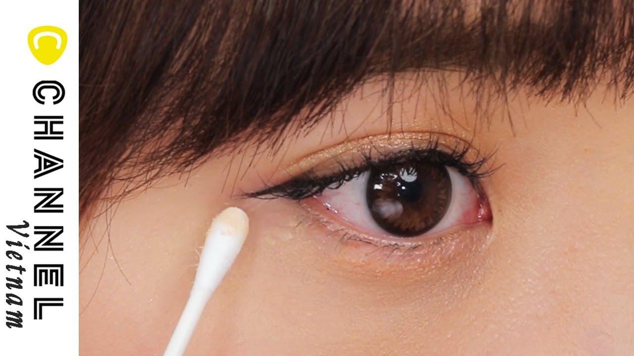 Mẹo vặt khắc phục lỗi makeup mắt