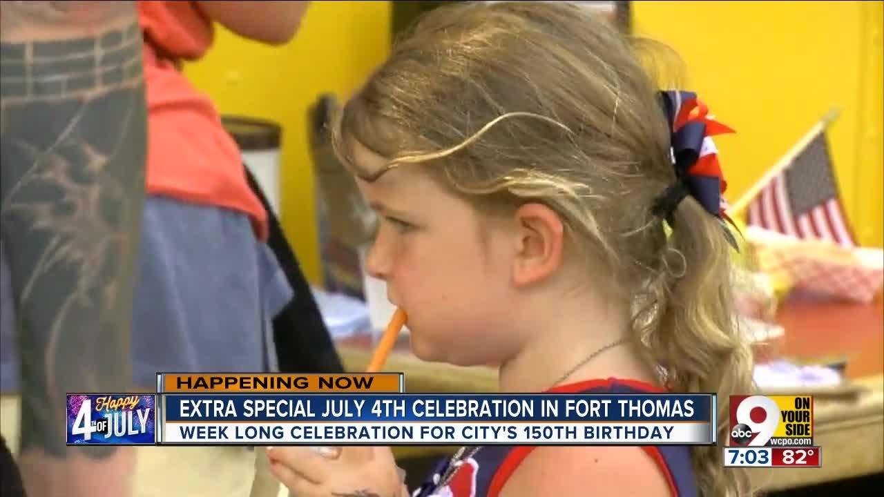 Celebrating 150 years of Ft. Thomas