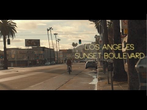 Los Angeles Sunset Boulevard - Sony 50mm OSS 1.8