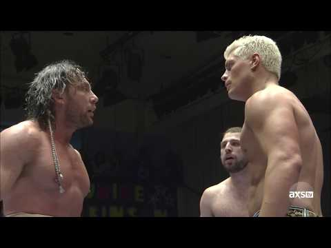 Cody And Omega Exchange Strong Words At New Year Dash 2018 From NJPW