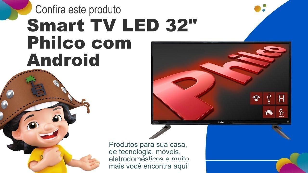 7c6187cda40 Smart TV LED 32