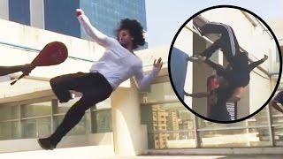 Tiger Shroff Real Life STUNT Training Video | Munna Michael Movie