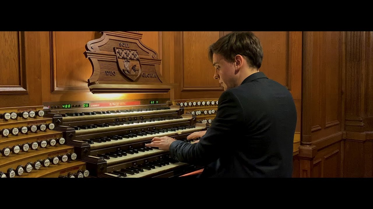 Thomas Ospital plays Louis VIERNE - Toccata