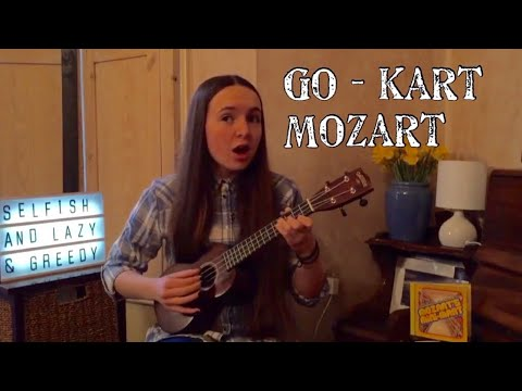 Selfish and Lazy and Greedy (Go-Kart Mozart cover) || Ukulele Version || Elsie Miles