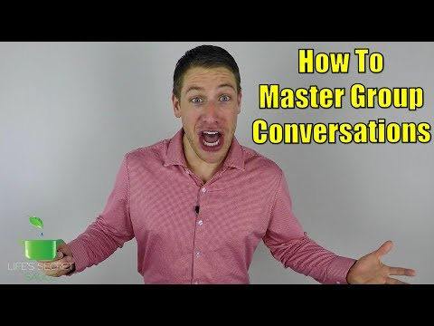 How To Master Group Conversations