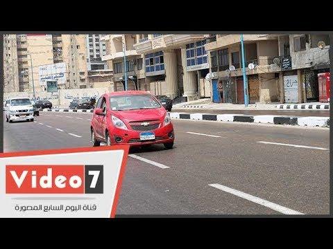 اليوم السابع :النشرة المرورية.. سيولة فى محاور وميادين القاهرة والجيزة