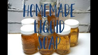 Download Video Homemade Liquid Soap from Scratch MP3 3GP MP4