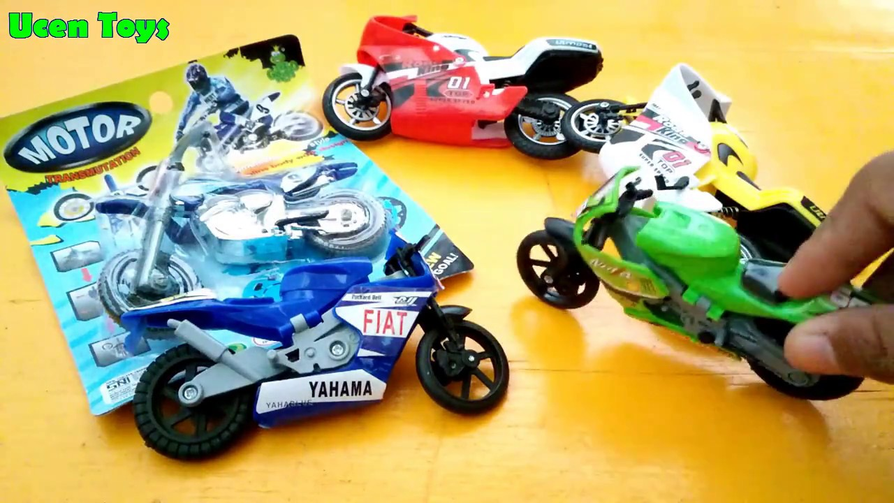 Mainan Anak Motor Trail Moto Ninja Unboxing Toys Moto Gp YouTube
