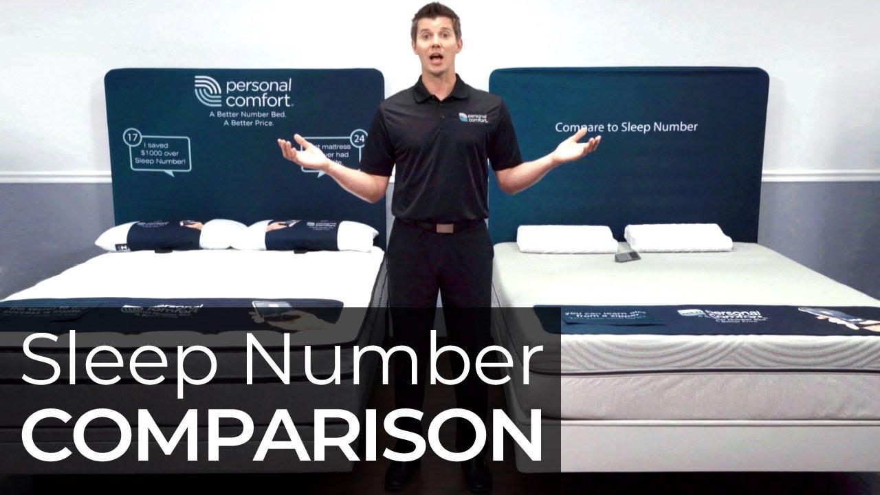 sleep number vs personal comfort number