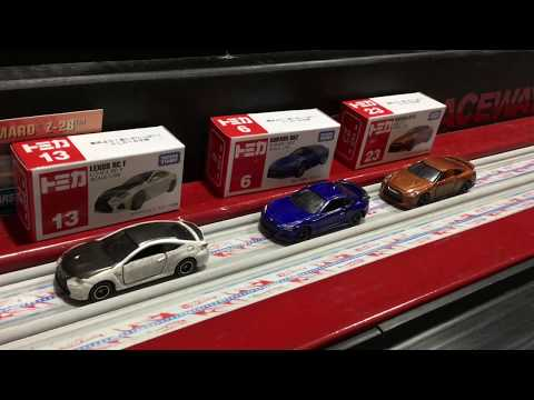 Tomica Nissan GTR, Subaru, and Lexus- Red Pill Racing Speed Review