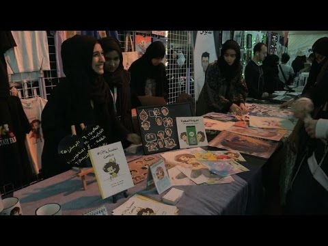 First Saudi Arabia Comic-Con marks chance to be 'free'