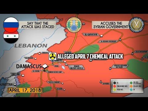 18 апреля 2018. Военная обстановка в Сирии. США планируют создать арабское формирование в Сирии.