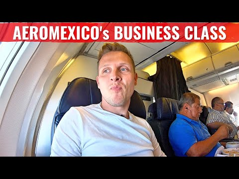 Review: AEROMEXICO 737 BUSINESS CLASS - INTENSE TAKE OFF!