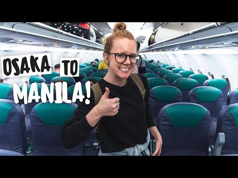Finally Traveling to THE PHILIPPINES! (Osaka ✈️ Manila)