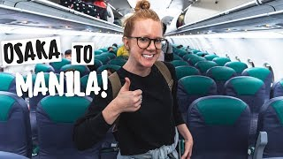 Finally Traveling to THE PHILIPPINES! (Osaka ✈️ Manila)
