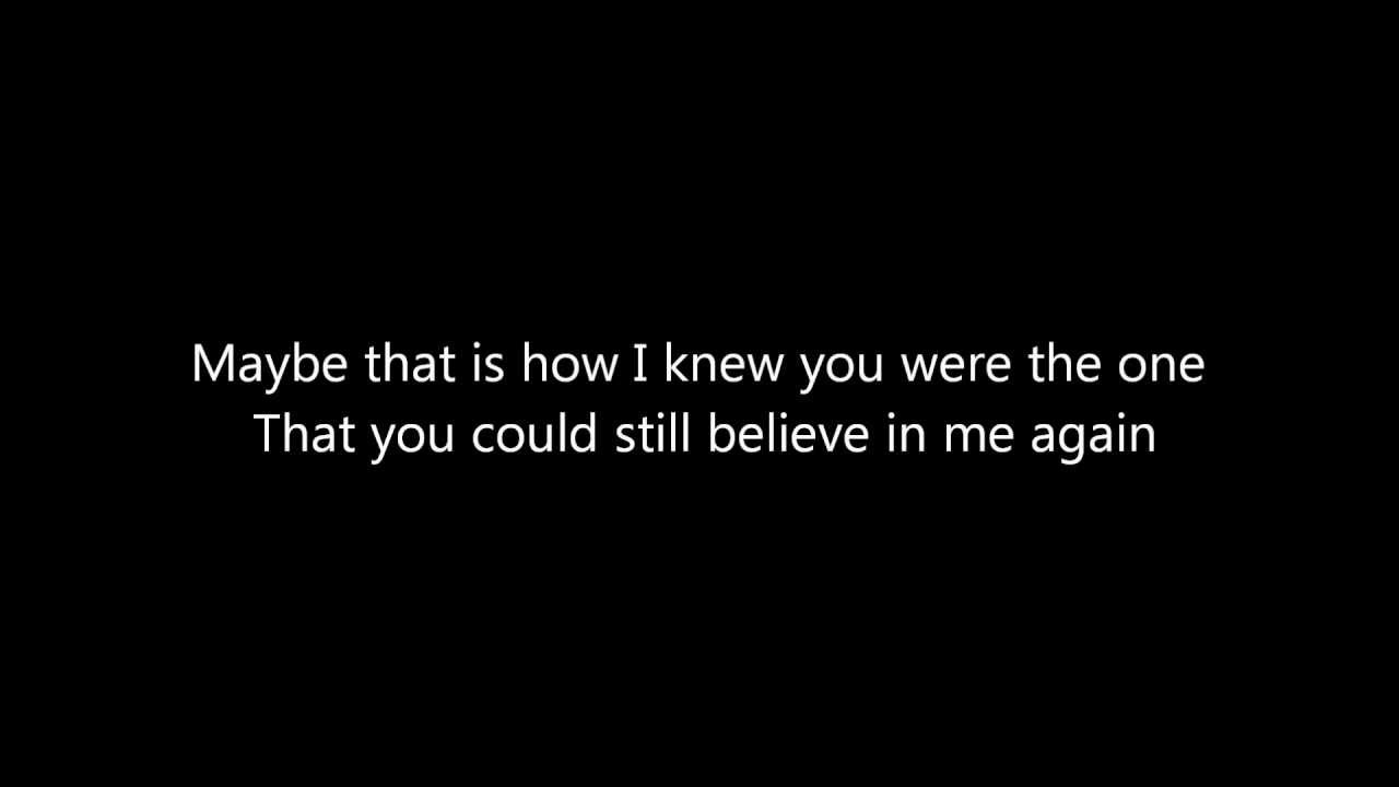 Lawson Learn To Love Again Lyrics Youtube