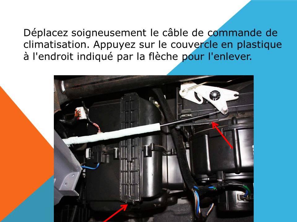 Changement De Filtre D Habitacle Sur Hyundai Accent