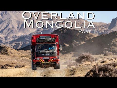 Overland Mongolia 4x4 Pt .1 Tiny home Overland truck Crosses the Gobi desert.