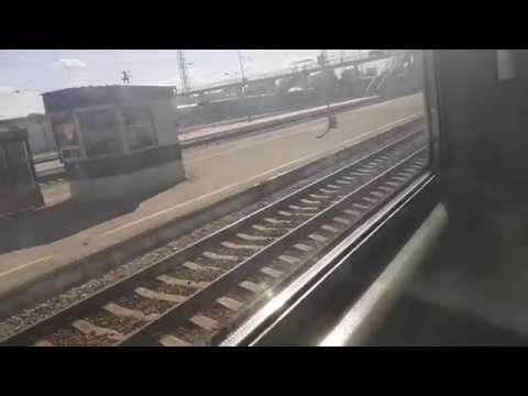От Кирова до Ломовской (оригинал) | поездка на электричке | ЭД-9М
