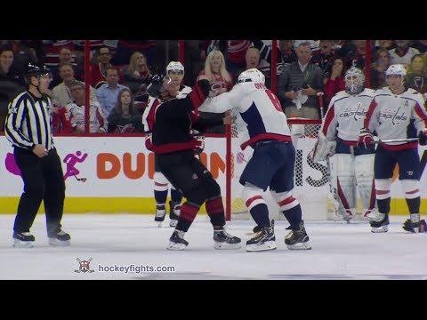 Dan Barreiro - Ovechkin Punches Put Svechnikov Into Concussion Protocol