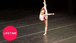 "Watch Elliana perform her solo ""T.K.O."" at the Devotion 2 Dance com..."