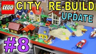 LEGO CITY REBUILD UPDATE # 8