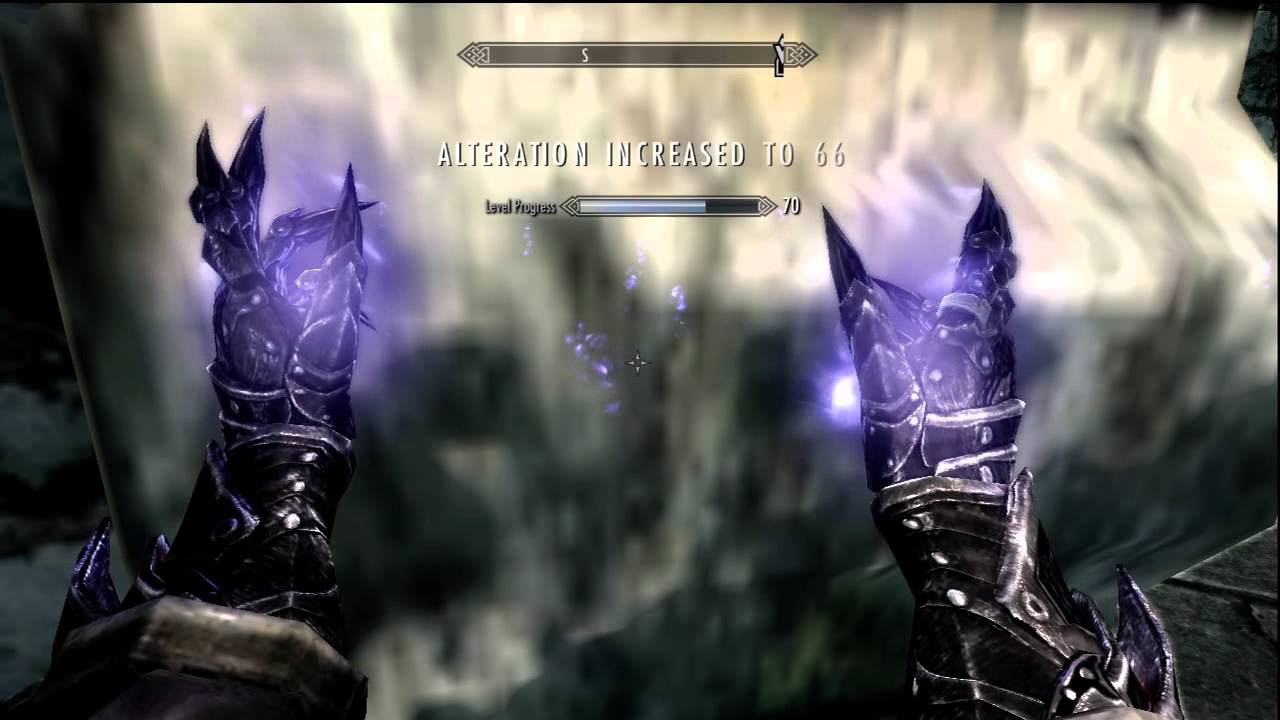 How to fast level alteration in skyrim