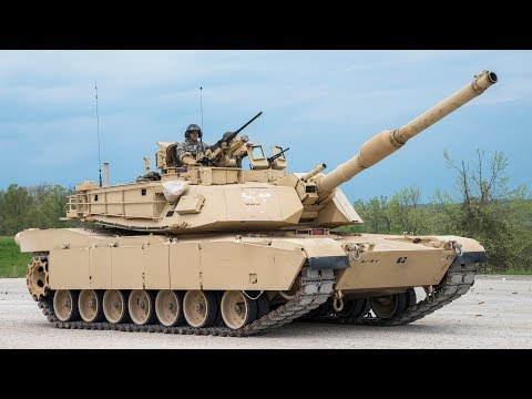 M1 Abrams Tanks in Action & Firing | Heavy Live Fire Range [Full HD]