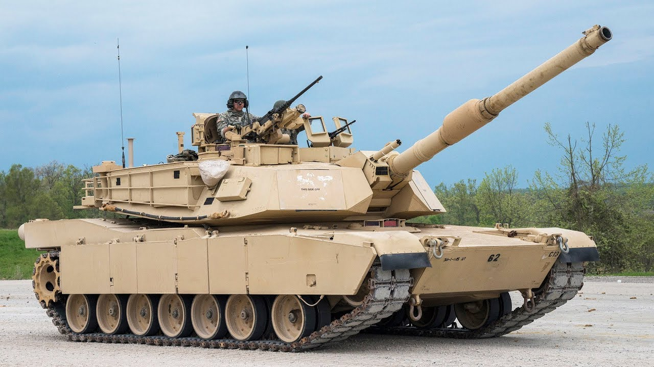 Military Training - M1 Abrams Tanks in Action & Firing ...