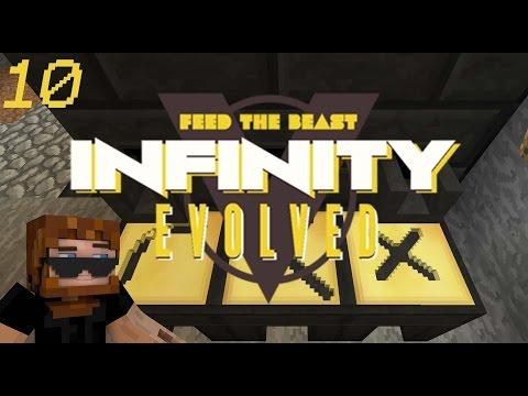 Minecraft: FTB Infinity Evolved - Ep.10 - Molten Alumite