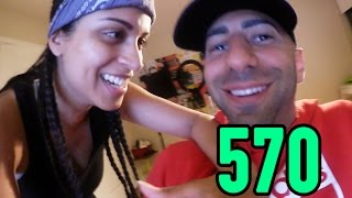 The Time She Didn't Have A Spine (Day 570)