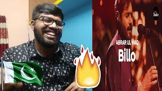 Coke Studio Season 12 | Billo | Abrar Ul Haq | Reaction
