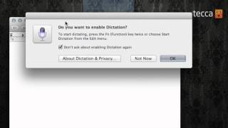 Just Show Me: How to use dictation on your Mac