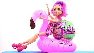 Шар Лол Распаковка с куклой Мишель в Видео для девочек