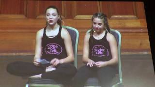 maddie and mackenzie ziegler full q a    australia tour