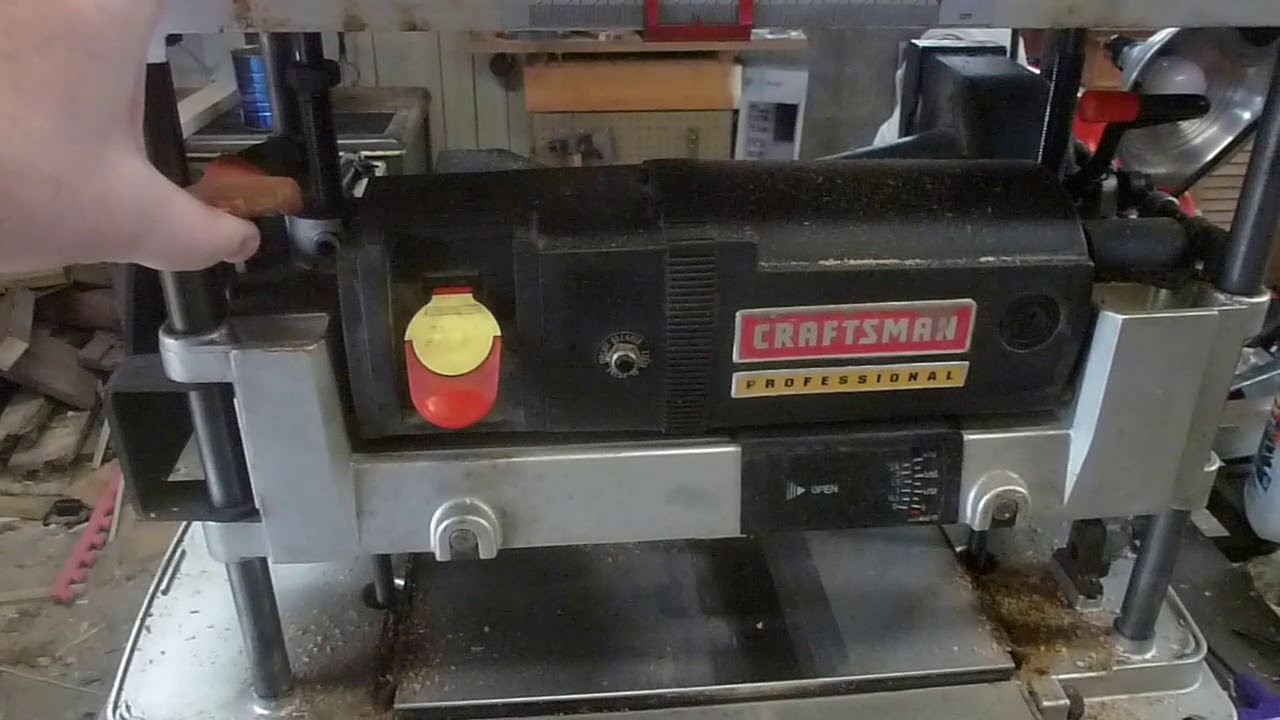 Craftsman Planer Review