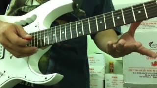 Hướng dẫn cách tập tất cả các kiểu harmonic trên guitar phần1
