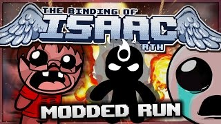 The Binding of Isaac: Rebirth - Modded Run: GODMODE!