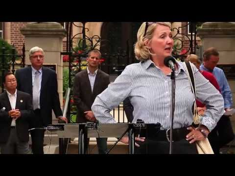 Firestorm Rally at the Governor's Mansion - Speaker Teresa Collett