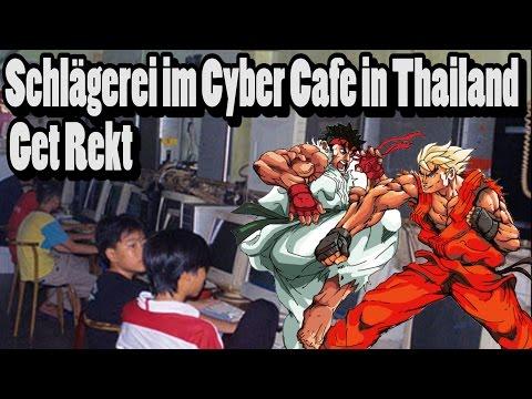 Schlägerei im Cyber Cafe in Thailand | Get Rekt