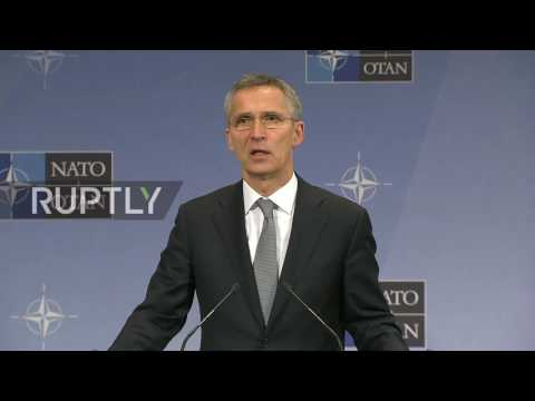 Belgium: NATO's Stoltenberg calls for continued economic sanctions against Russia