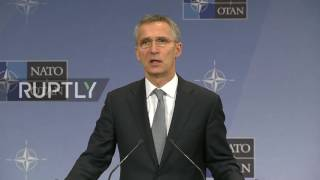 Belgium  NATO's Stoltenberg calls for continued economic sanctions against Russia